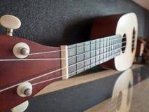 Закройте вверх гавайской гитары Стоковые Фото