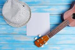 Закройте вверх гавайской гитары Стоковое Изображение RF
