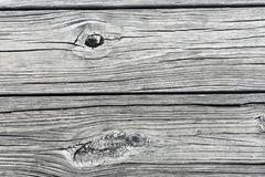 Закройте вверх деревянных планок на доке стоковая фотография