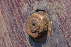 Закройте вверх деревянной шлюпки палубы Стоковые Фото