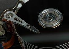 Закройте вверх жёсткия диска Стоковое фото RF