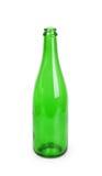 Закройте вверх зеленой бутылки шампанского Стоковые Фото