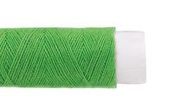 Закройте вверх зеленых потоков катушки. Стоковая Фотография RF