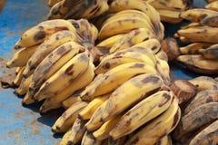 Закройте вверх зрелого банана Стоковые Фотографии RF