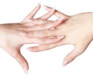 Закройте вверх здоровых рук Стоковые Фото