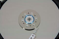 Закройте вверх дисковода жесткого диска внутрь Стоковая Фотография RF