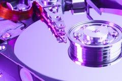 Закройте вверх дисковода жесткого диска компьютера Стоковые Изображения RF