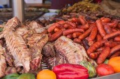 Закройте вверх испанской еды улицы Стоковое фото RF