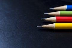 Закройте вверх карандаша цвета Стоковые Изображения