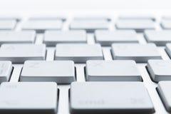 Закройте вверх ключей клавиатуры компьтер-книжки Стоковые Фото