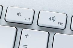 Закройте вверх ключей клавиатуры компьютера Стоковые Изображения RF