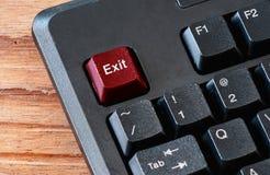 Закройте вверх кнопок на keyborad компьютера Стоковая Фотография