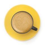 Закройте вверх кофейной чашки стоковое фото rf