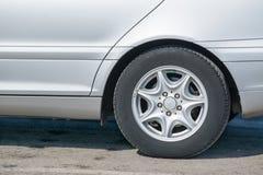 Закройте вверх колеса сплава Стоковые Изображения RF