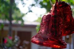 Закройте вверх колоколов рождества Стоковые Изображения RF