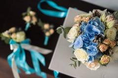 закройте вверх красивого bridal букета Стоковая Фотография RF