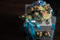 закройте вверх красивого bridal букета Стоковые Изображения RF