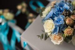 закройте вверх красивого bridal букета Стоковое фото RF