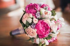 закройте вверх красивого bridal букета Стоковые Фото