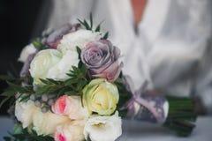 закройте вверх красивого bridal букета Стоковые Фотографии RF