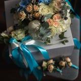 закройте вверх красивого bridal букета Стоковое Изображение RF