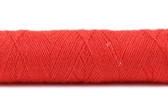 Закройте вверх красных потоков катушки. Стоковое Изображение
