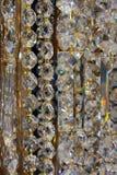 Закройте вверх кристаллического стекла Стоковое Изображение