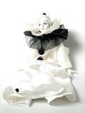 Закройте вверх куклы клоуна фарфора Стоковое Изображение RF