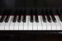 Закройте вверх клавиатуры рояля Стоковые Фотографии RF
