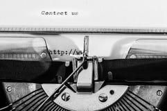 Закройте вверх машинки Стоковая Фотография RF