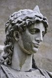 Закройте вверх мраморной скульптуры ангела Стоковые Изображения RF