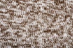 Закройте вверх на текстуре шерстяной ткани knit стоковая фотография