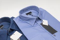 закройте вверх новой рубашки дела для людей Стоковое Изображение RF