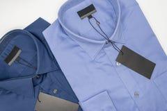 закройте вверх новой рубашки дела для людей Стоковые Изображения RF