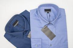 закройте вверх новой рубашки дела для людей Стоковое фото RF