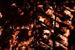 Закройте вверх огня Стоковые Фото