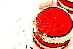 Закройте вверх огромного успеха торта Стоковые Изображения