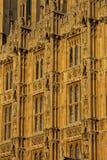 Закройте вверх окон парламента Стоковое Изображение RF