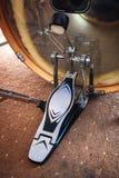 Закройте вверх педали басового барабанчика Стоковые Фото