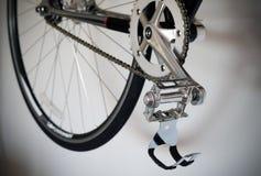 Закройте вверх педали велосипеда Стоковые Изображения RF