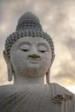 Закройте вверх по большой голове Будды Стоковое Изображение RF