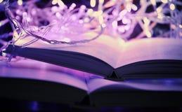 Закройте вверх по взгляду открытых книг Стоковые Фотографии RF