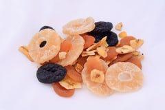Закройте вверх по взгляду различных высушенных плодоовощей Стоковое фото RF