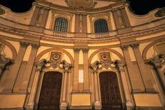 Закройте вверх по взгляду собора vigevano стоковое изображение rf