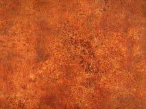 Закройте вверх по взгляд сверху деревенского металла grunge стоковое изображение