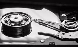 Закройте вверх по взгляду жесткого диска компьютера Стоковая Фотография RF