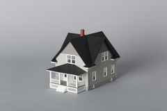 Закройте вверх по взгляду модельного дома Стоковое Фото