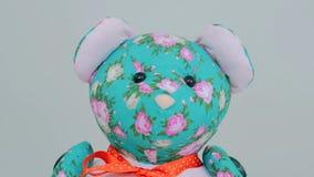 Закройте вверх по взгляду плюшевого медвежонка Стоковое фото RF