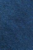 Закройте вверх по военно-морскому флоту/голубой текстуре ткани Справочная информация Стоковое фото RF