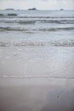 Закройте вверх по волнам моря Стоковое фото RF